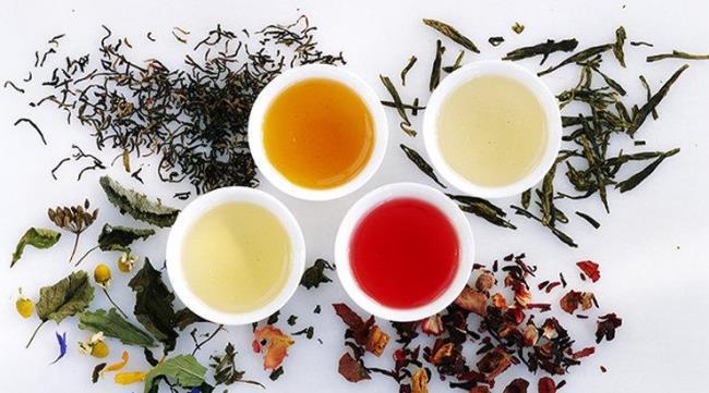 Рисунок 1. Разнообразные сорта чая