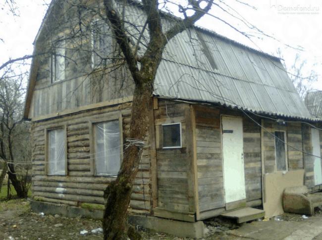 Рисунок 3. «Квартира» в СВАО на практике является частью дома без душа и туалета