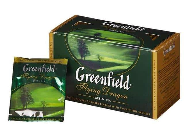 Рисунок 3. Популярная марка зеленого чая в пакетиках не рекомендована к покупке из-за присутствия плесневых микроорганизмов