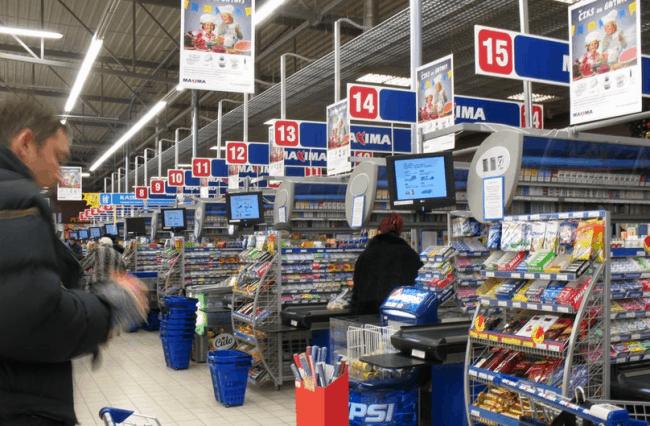Рисунок 3. Работа в супермаркетах — самая низкооплачиваемая в стране