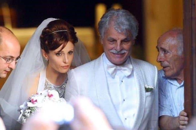 Рисунок 3. Свадьба со второй женой – Федерикой Винченти