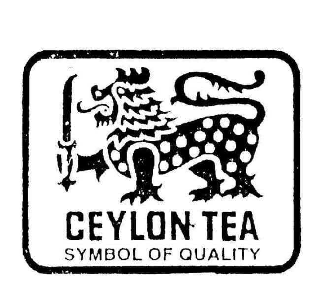 Рисунок 4. Лев, изображением которого маркируются сорта цейлонского происхождения, должен иметь 17 точек на туловище