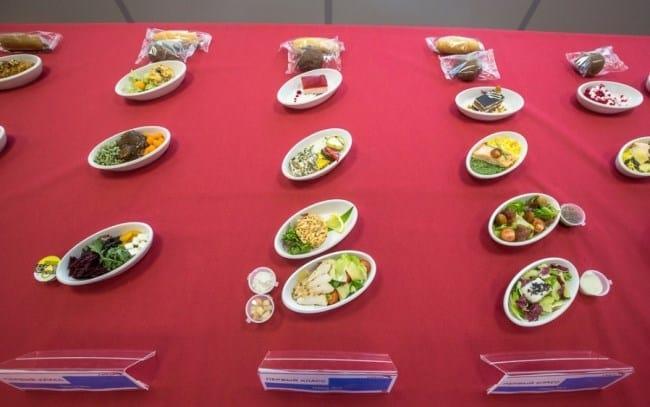 Рис. 16. Три вида обедов