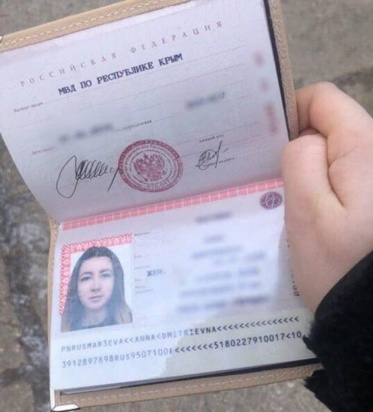 Рис. 2. Готовый паспорт
