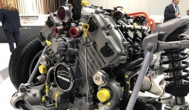 Рис. 4. Гибридный двигатель «Аурус»
