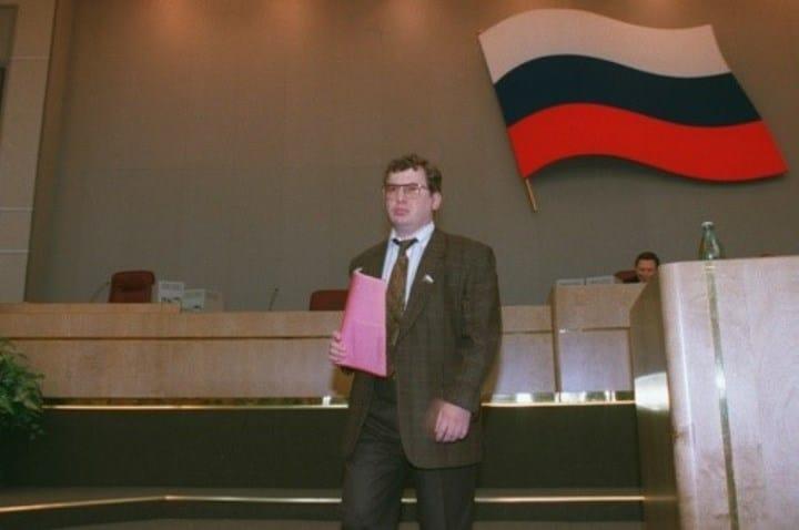 Рис. 7. Аферист-депутат в Госдуме