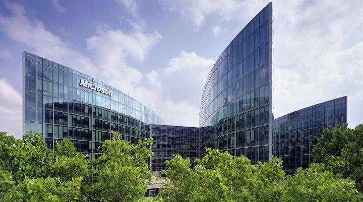 Рис. 8. Office Microsoft в США