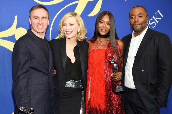 Рисунок 1. Naomi Campbell на церемонии вручения премий CFDA Awards в 2018 году