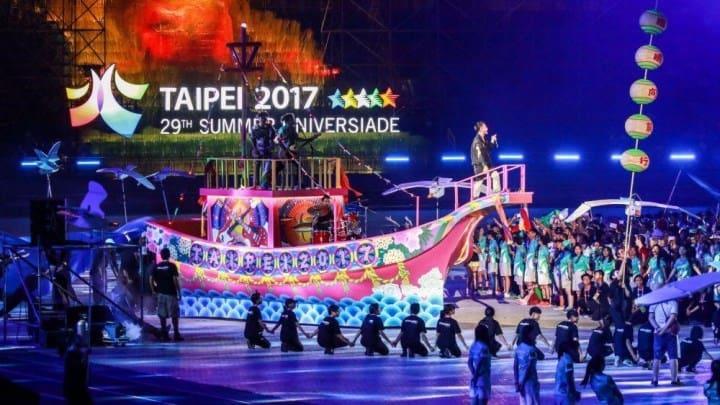 Рисунок 1. Открытие Летней Универсиады в Тайбее в 2017 г.