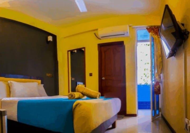 Рисунок 2. Номер в отеле «Seasunbeach Maldives»