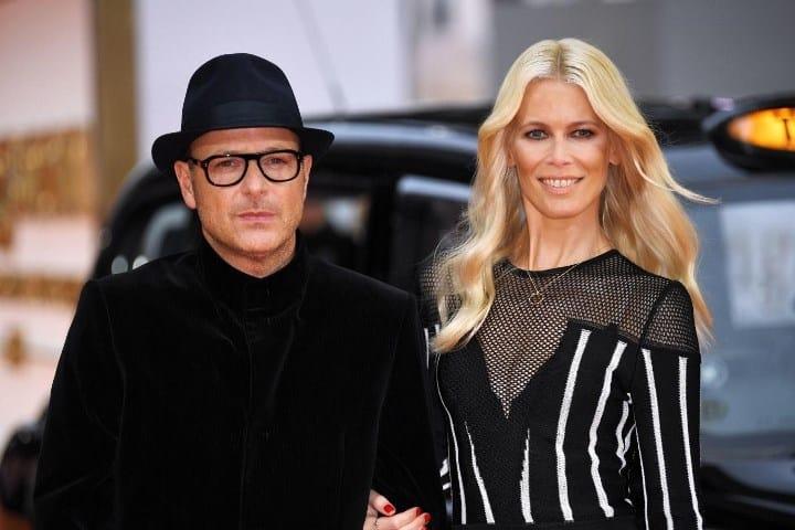 Рисунок 3. Фото Клаудии с мужем в Лондоне на премьере его кинокартины «Kingsman: золотое кольцо» в 2017 г.