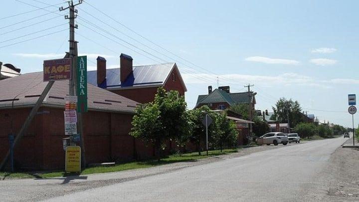 Рисунок 5. Вид на один из домов Знаменского