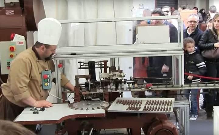 Рис. 16. Мини-линия для производства конфет. Источник: фото из архива автора Барбаевой В.В.