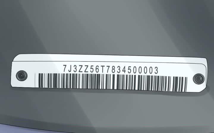 Рисунок 1. Вин-код машины наряду с государственными номерами позволяет получить подробные данные о транспортном средстве и его хозяине