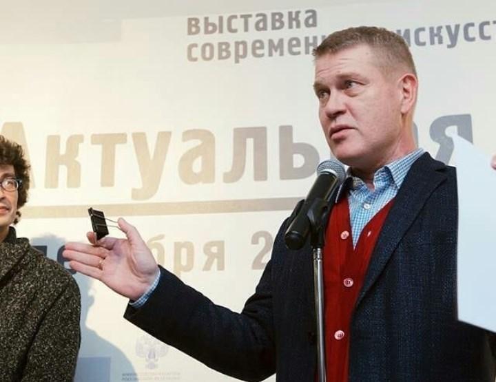 открытие выставки «Актуальная Россия. Игра в классиков»