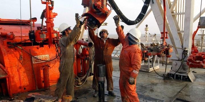 Рис. 2. На предприятии по добыче нефти