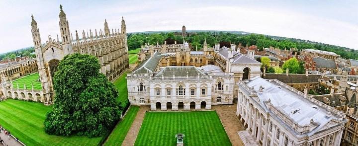 Рис. 2. Территория University of Cambridge