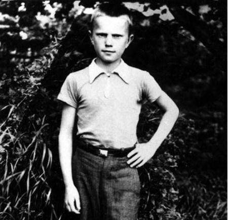 В школьные годы. Фото из личного архива Г.Н. Зюганова