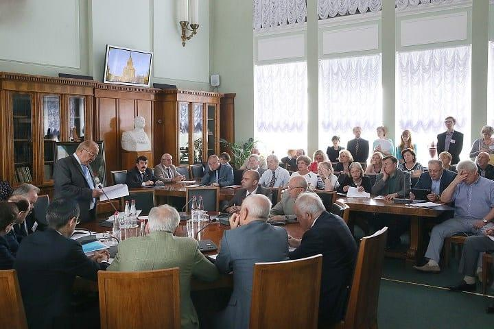 Рис. 2. Заседание Центральной приемной комиссии
