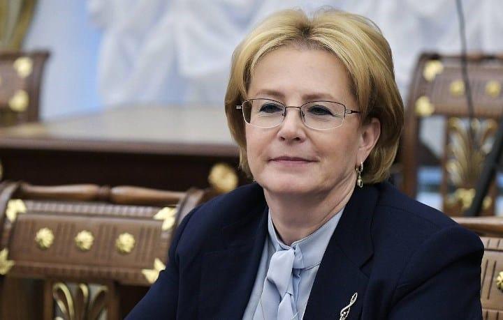 Рис. 4. Министр здравоохранения России