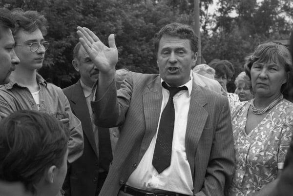 Лидер ЛДПР В.В. Жириновский