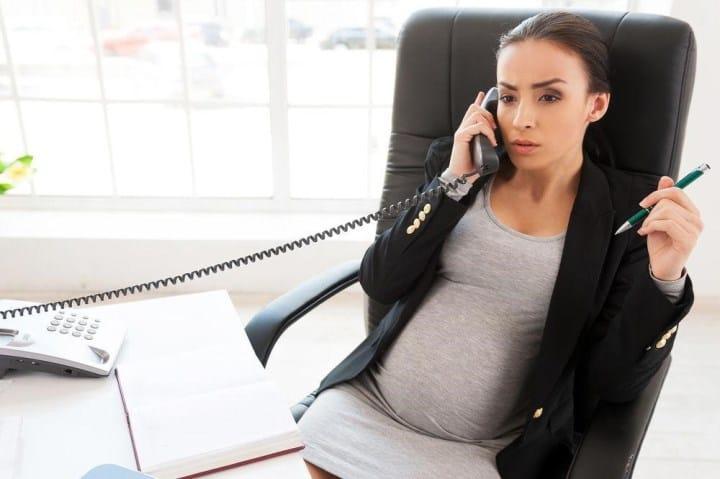Рис. 5. Беременные имеют право на отпуск