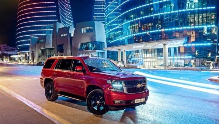 Рис. 5. Chevrolet Tahoe на улицах Москвы