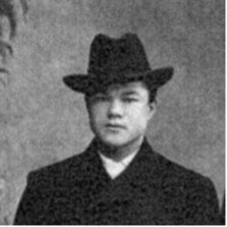 Рис. 5. Молодой Спиридон Иванович Путин, 1900