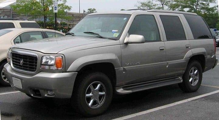 Рис. 6. Cadillac Escalade 2000 – собрат Chevrolet Tahoe