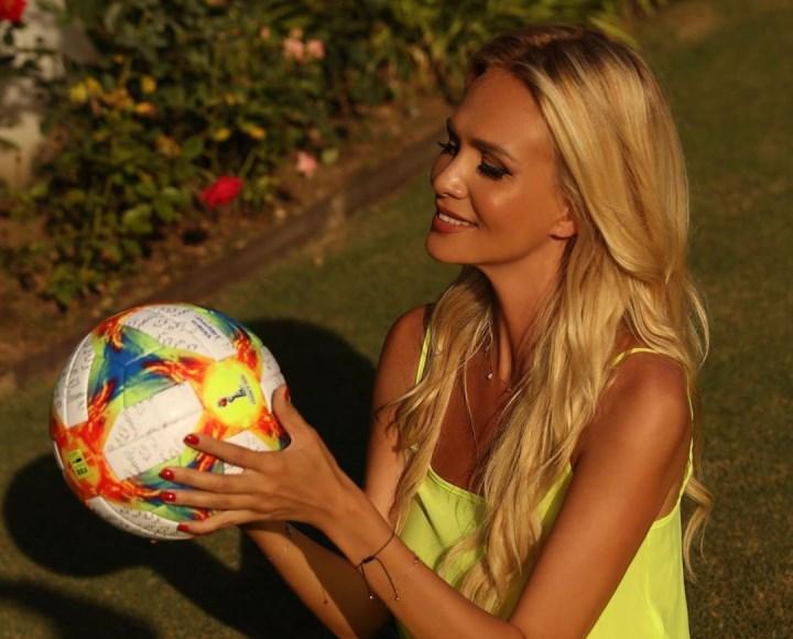 покровительница футбола