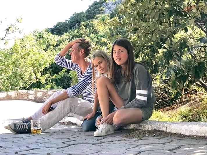 Фото Алексей с дочкой Анной в Крыму, лето 2019 г.