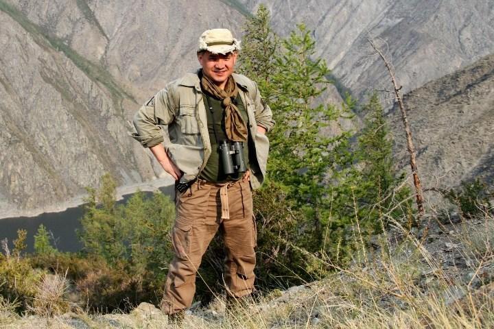 Рис. 1. Государственный деятель любит родные края и часто приезжает сюда на охоту и рыбалку
