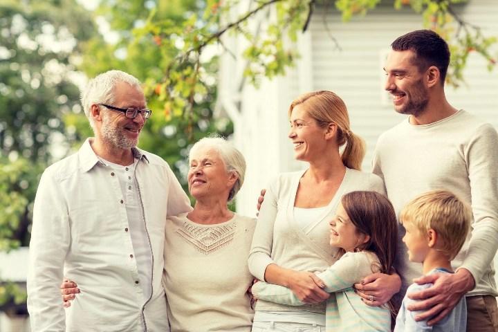 Рис. 1. Поддержка в семье без вмешательства закона
