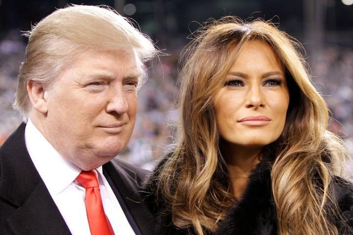 Рис. 1. Президент с третьей женой