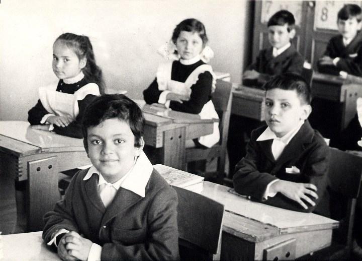 Рис. 2. В начальной школе