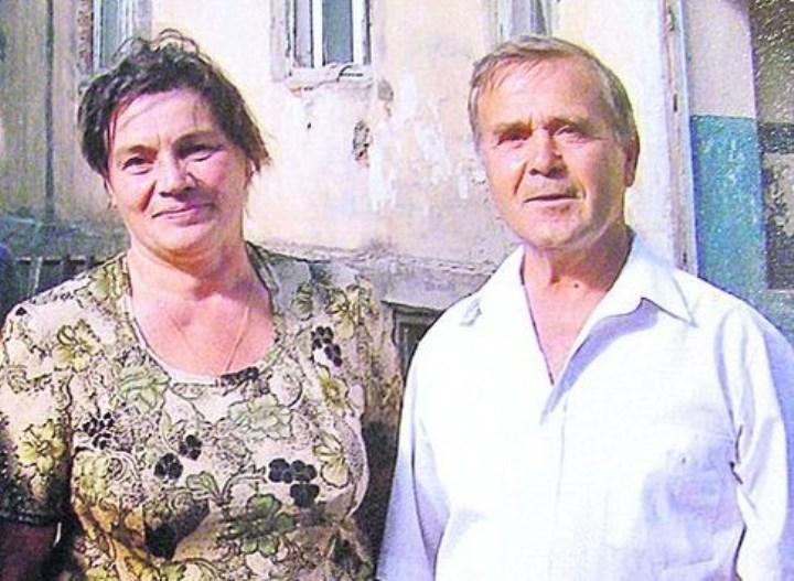 Рис. 4. Евгения Порошенко и сосед по дому Степан Фазлы (Болград)