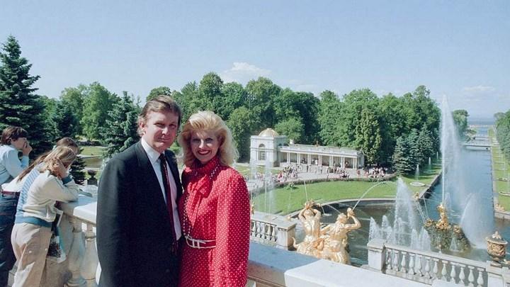 Рис. 4. С женой в Ленинграде