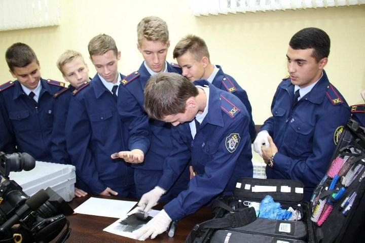 Рис. 5. Курсанты кадетского корпуса