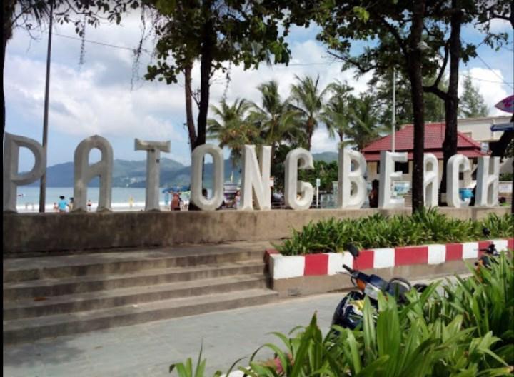 Рис. 5. Пляж Патонг