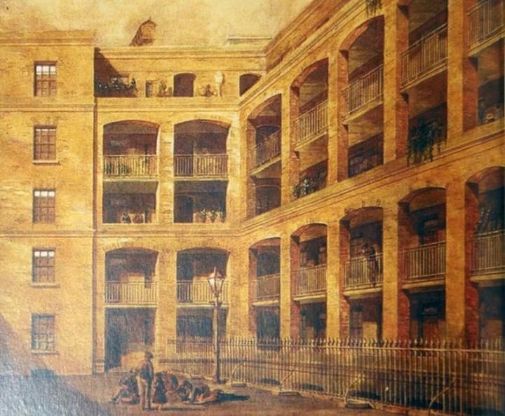 Рис. 7. Дом Джорджа Пибоди в Лондоне