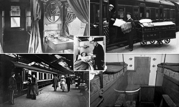 Рис. 8. Спальные вагоны Великобритании, конец 19 века