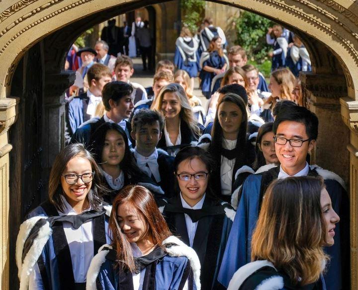 Студенты Кембриджа