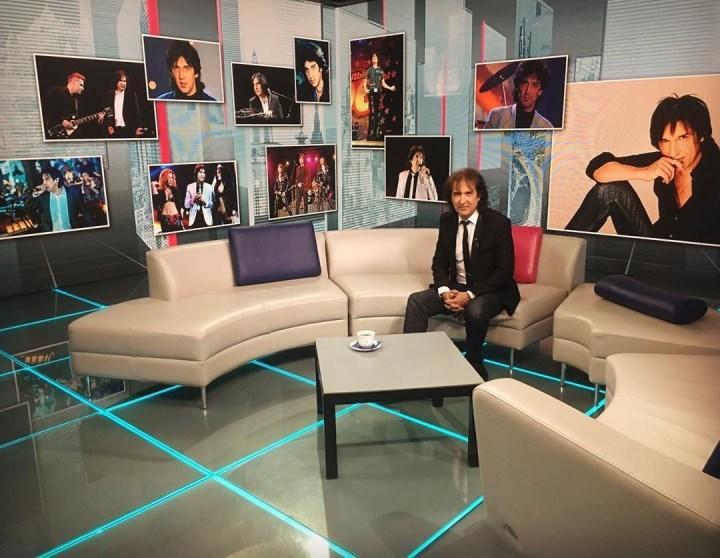 в телестудии Останкино