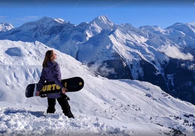 Фото: горнолыжный курорт Ла Плань, Франция