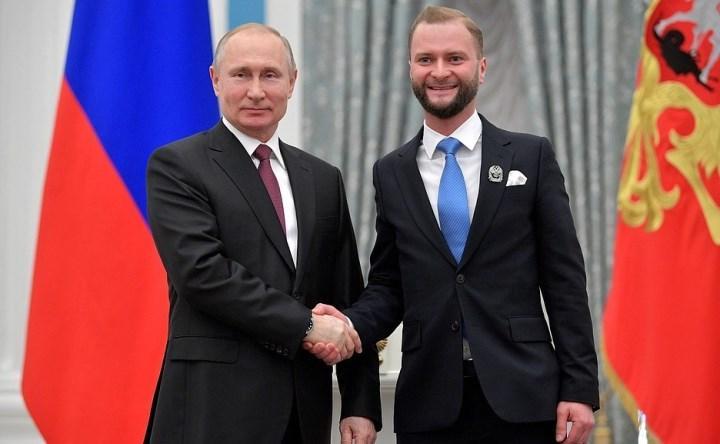 Переслегин Николай с Президентом РФ