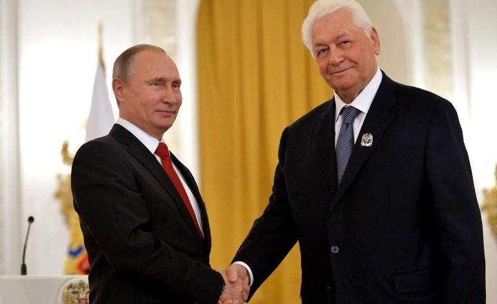 Президент и лауреат