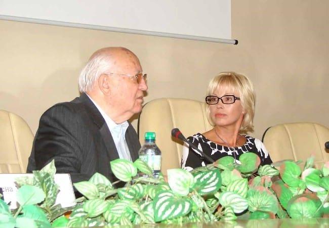 Фото на конференции памяти Р.М. Горбачевой