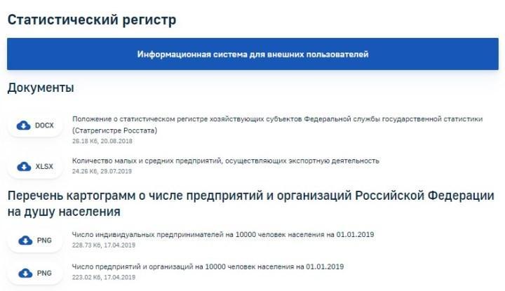 Скрин с сайта gks