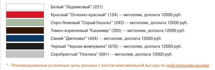 Скриншот страницы lada.ru