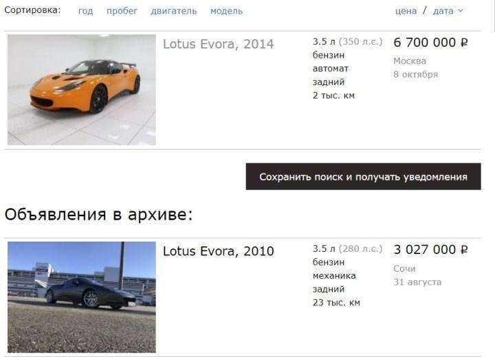 Скриншот страницы auto.drom.ru